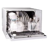 Black Friday Haier HDC1804TW 4-Place-Setting Tabletop Dishwasher